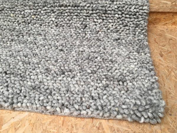 Teppich, Schlinge, graumeliert, 140 x 200